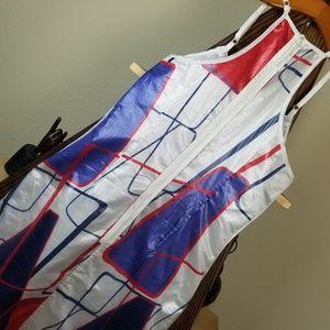 D & G Sleeveless Racerback Psychadelic Mod Dress